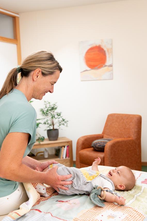 Kinder-Osteopathie Mainz Säuglinge